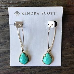 Kendra Scott - Dee Earrings - Gold with Turquoise
